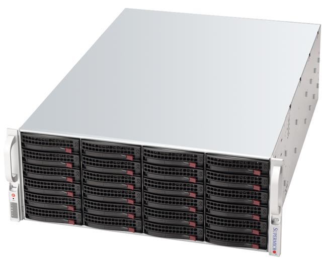 SUPERSERVER SUPERMICRO STORAGE 846-1200 X8 PN: 17831-6